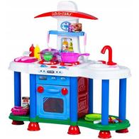 Bucatarie pentru copii cu sunete si lumini Ecotoys