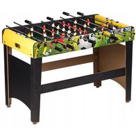 Masa de fotbal din lemn 60 x 120 x 78 cm Ecotoys XXL - Verde