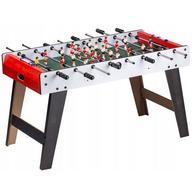 Masa de fotbal din lemn 60 x 120 x 78 cm Ecotoys XXL - Alb