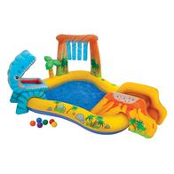 Piscina gonflabila pentru copii cu tobogan Intex 57444