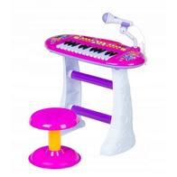 Pian cu microfon Ecotoys BB383D Pink