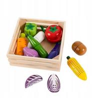 Set de legume cu magnet Ecotoys