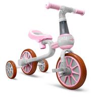 Bicicleta cu roti ajutatoare Ecotoys LC-V1311 - Roz