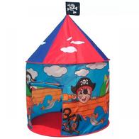 Cort de joaca pentru copii, model pirati cu ilustratii grafice