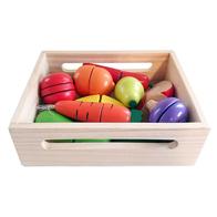 Set de fructe si legume din lemn NEFERE