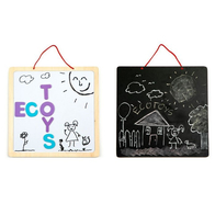 Tabla educationala 3 in 1 cu litere magnetice Ecotoys ESC-W-018A