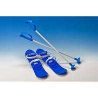 Schiuri copii Marmat Big Foot - Albastru