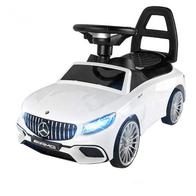 Masinuta de impins cu LED si sunete Mercedes S65 AMG  - Alb