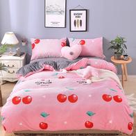 Lenjerie pentru pat de 2 persoane pufoasa Cocolino - JOJO336