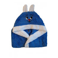 Halat de baie pentru copii albastru - ABS01