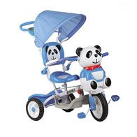 Tricicleta EURObaby Panda A23-3 - Albastru