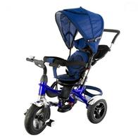 Tricicleta cu sezut reversibil EURObaby T307 - Albastru