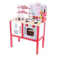 Bucatarie din lemn pentru copii 4201 Ecotoys