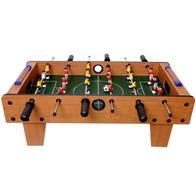Masa de fotbal din lemn Ecotoys 70 x 36 x 24 cm - Nature