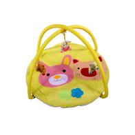Salteluta de joaca ARTI B694537 Pig - Rabbit toys Yellow