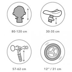 Bucatarie Ecotoys 7256A  + set accesorii - gri