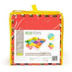 Carucior pentru papusi din lemn Ecotoys ESC-W-0173