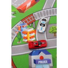Salteluta de joaca cu bile Ecotoys 88968 Broasca Testoasa - Albastra