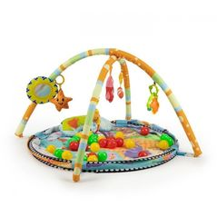 Salteluta de joaca cu bile Ecotoys 518A-08 - Multicolora