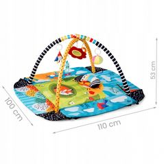 Salteluta de joaca 100 x 100 cm Ricokids Lisek