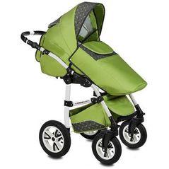 Carucior VESSANTI Flamingo Easy Drive 3 in 1 - Green
