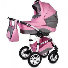 Carucior VESSANTI Flamingo Easy Drive 3 in 1 - Pink