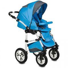 Carucior VESSANTI Flamingo Easy Drive 3 in 1 - Blue
