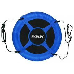 Leagan tip cuib pentru copii XXL, 95 cm, 150 kg, Neo-Sport 1000, Albastru