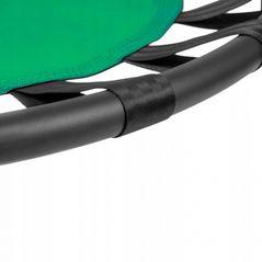 Leagan tip cuib pentru copii, 120 cm, 150 kg, Neo-Sport 1031, Verde