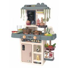 Bucatarie pentru copii cu sunete, LED-uri si dispenser de apa Ecotoys HC483303