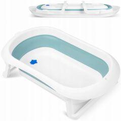 Cadita de baie cu dop de scurgere Ricokids RK-281 - Albastru